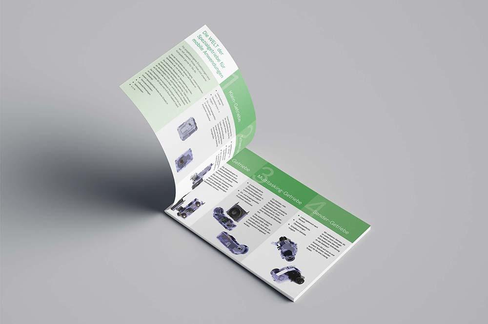 Vorschau Broschüre Getriebesonderbau